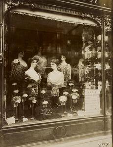 Hairdresser's Shop Window, boulevard de Strasbourg