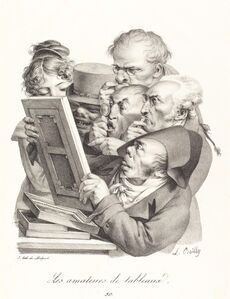 Les amateurs de tableaux (The Picture Enthusiasts)
