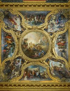 Le plafond du salon d'Apollon