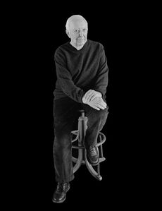 Jasper Johns, Sharon, CT, 8 February 2014