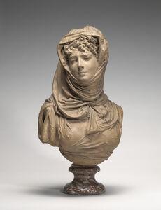 Fantasy Bust of a Veiled Woman (Marguerite Bellanger?)