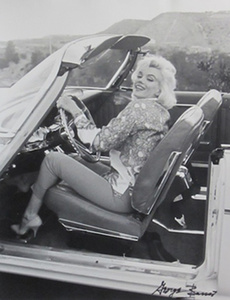 Marilyn Driving