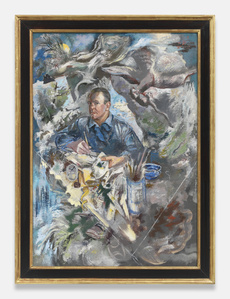 z Self Portrait with Bird of Prey and Rat