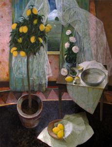 Intérieur au citronnier