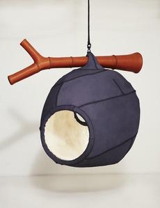 Wasp Nest sculptural hanging seat