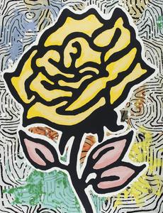 Yellow Rose (Six Roses)