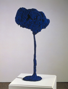 Tree, Large Blue Sponge (SE 71)