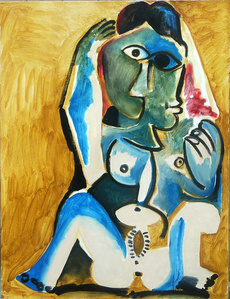 Nude - Homage to Picasso