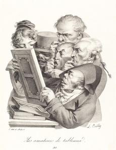 Les amateurs de tableaux (The Picture Enthusiasts)