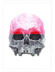 Red Cranium Skull