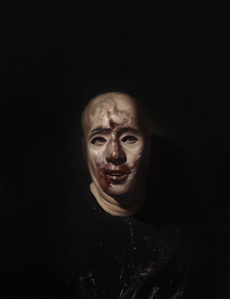 Study (Self Portrait with Mask)