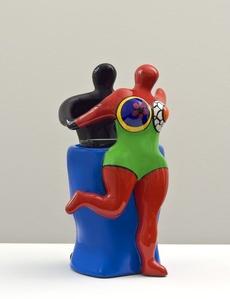 Couple with Vase