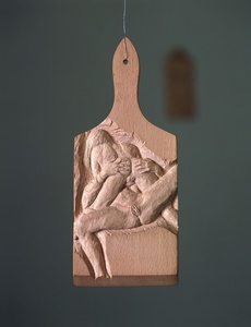 Untitled (Carved Cutting Board 7)