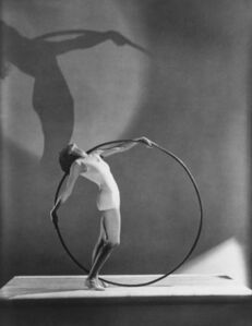 Swimwear with Hoola Hoop, Miss E. Carise