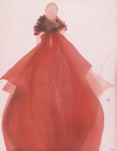Red Evening Dress (Gucci)