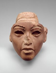 Face from a Composite Statue, probably Queen Tiye
