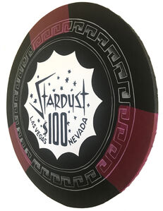 Stardust - Giant Casino Chip