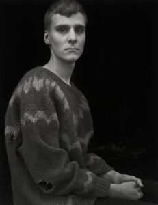 Arnar in the Borrowed Sweater,Djúpivogur,!celand