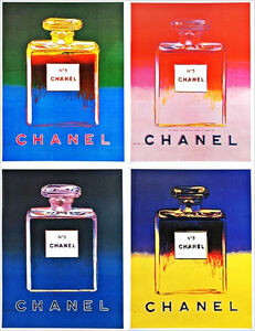 Chanel No. 5, Suite of Four (4) Individual Offset Lithographs