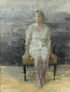 Jennifer with Cream Dress