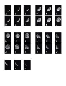 Lunar Alphabet