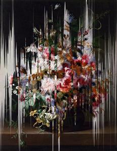 """Error en """"flores en un jarrón"""" de Reachel Ruysch 1"""