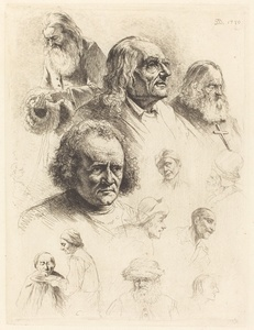 Thirteen Studies of Heads