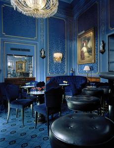 Blaue Bar, Selbstportrait, Wien