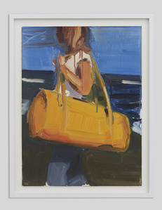 Woman with bag II