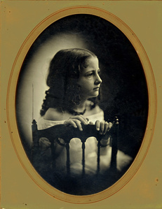 Young Girl with Chair