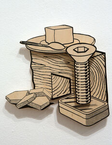 Games, Dance and the Constructions (Unfinished Plywood) # 29