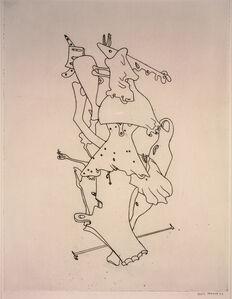 Composition from Surrealist Portfolio VVV