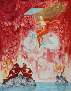 Evolution of a Myth No.10, Apocalypse: God on Her Bicycle