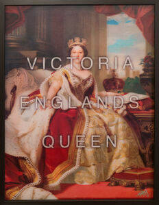 Victoria Englands Queen / Governs a Quite Land