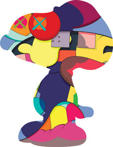 Kaws - No one`s home (Snoopy)