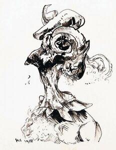 Untitled (Surrealist Head)