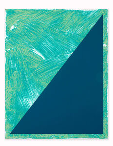 Untitled (Triangle Painting #6)