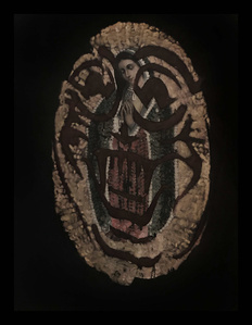 La Virgen de Guadalupe from Barking at God - Retablos Mundanos