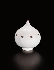 Unique 'Gocce di Cristallo' vase, from the 'Metamorfosi' series
