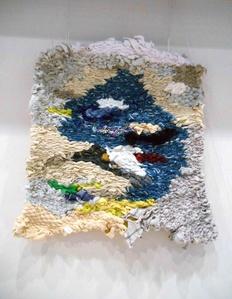 """Tapestry """"Small White-Blu Sky"""""""