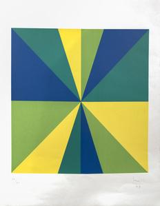 Four Color Quadrants in Rotation