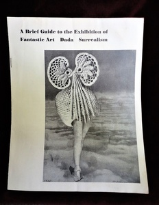 """Fantastic Art Dada Surrealism"", Exhibition Brochure,  Museum of Modern Art NY"