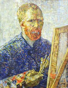 Monument--Self Portrait as an Artist (Vincent van Gogh)