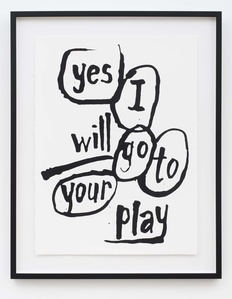 Yes I Will Go To Your Play (from Portfolio A)