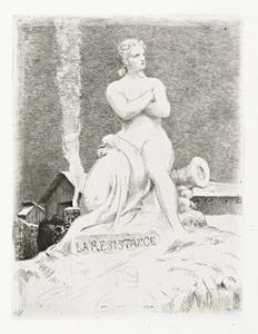 SiŠge de Paris en 1870: cinq eaux-fortes