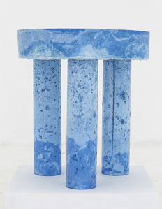 Blue Pulp Table