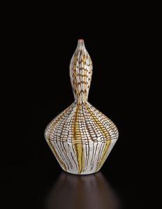 Unique 'Mosaico a Polvere' vase