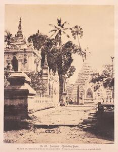 Thamboukday Pagoda, Amerapoora, Burma.