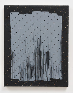 Untitled (Dots/ Strokes/ Black)