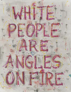 Skin Set Drawing: White People Are Angles On Fire